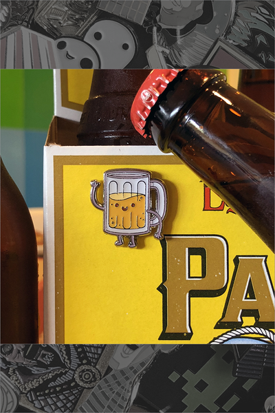 "215. ""Taste Buds - Beer"" Pin by Philip Tseng"