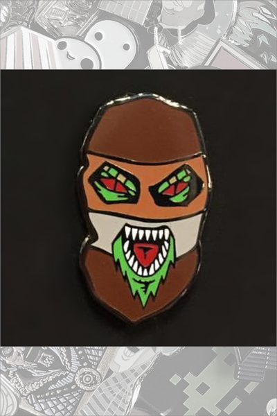 "260. ""Mask Gremlin"" Pin by Rhys Cooper"