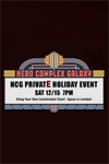 HCG PRIVATE EVENING EVENT - December 15, 2018