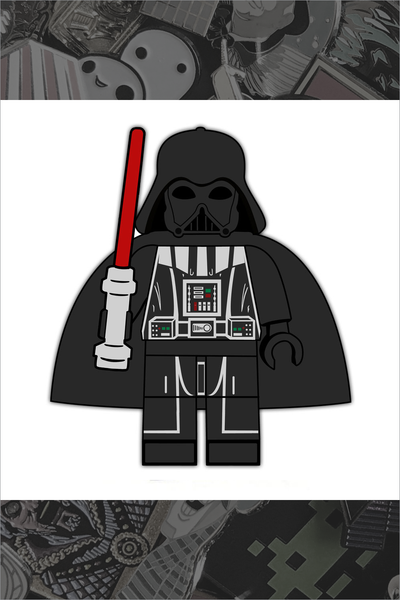 "596. ""Darth Vader"" Pin by Hellraiser Designs"
