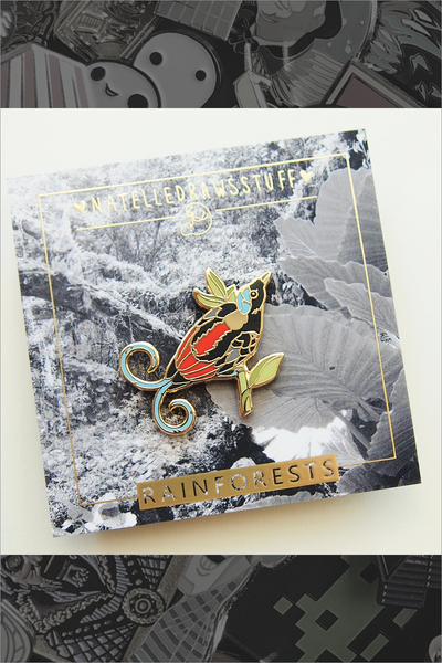 "678. ""Wilson's Bird of Paradise"" Pin by Natelle"