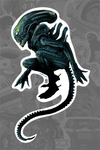 """Xenomorph"" Sticker by Vance Kelly - Hero Complex Gallery"