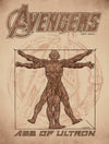 """Vitruvian Ultron"" by Chris Weston - Hero Complex Gallery"