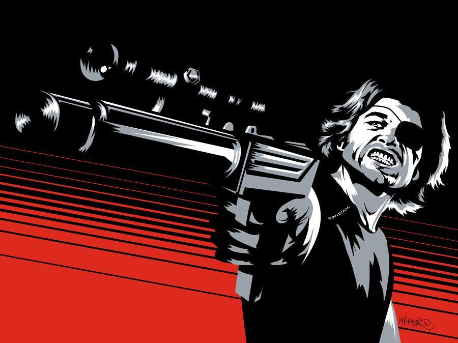 """The Name's Plissken"" by Jeremy Wheeler - Hero Complex Gallery"