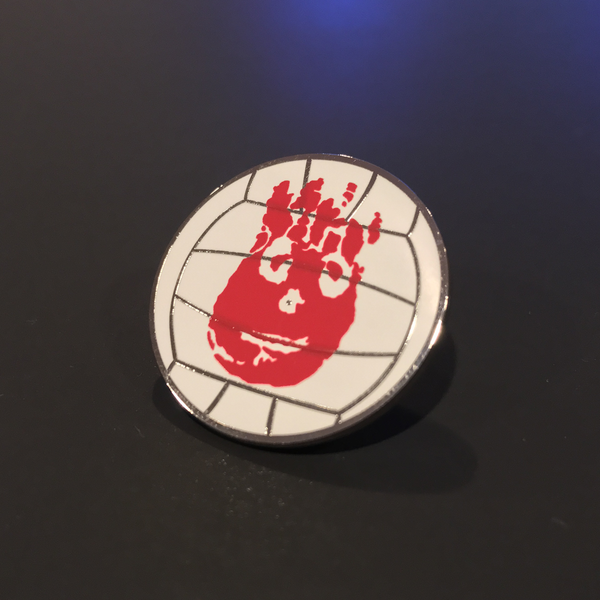 """Wilson"" Pin by Kevin M Wilson - Hero Complex Gallery"