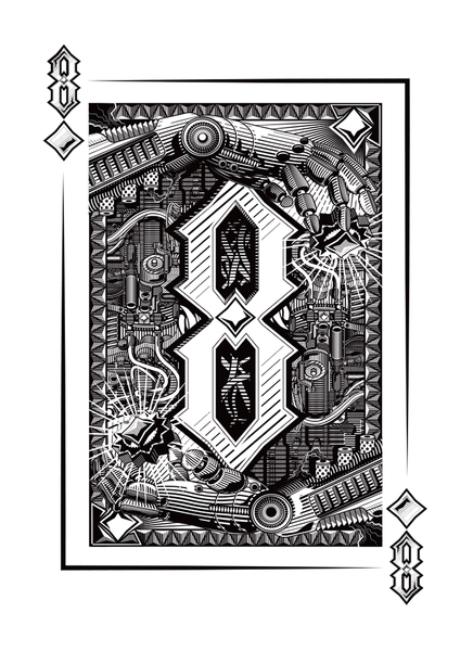 8 of Diamonds by WIUR - Hero Complex Gallery