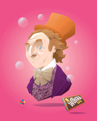 "Busted: ""Wonka"" by Florey - Hero Complex Gallery  - 1"