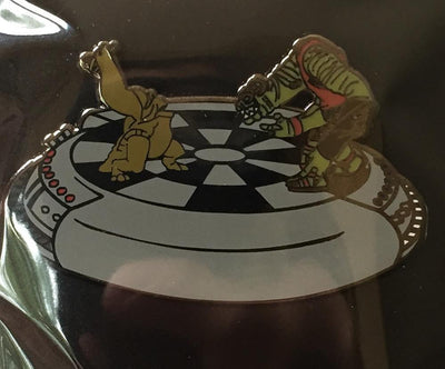 "248. ""Let the Wookie Win"" Pin by Punch It Chewie Press"