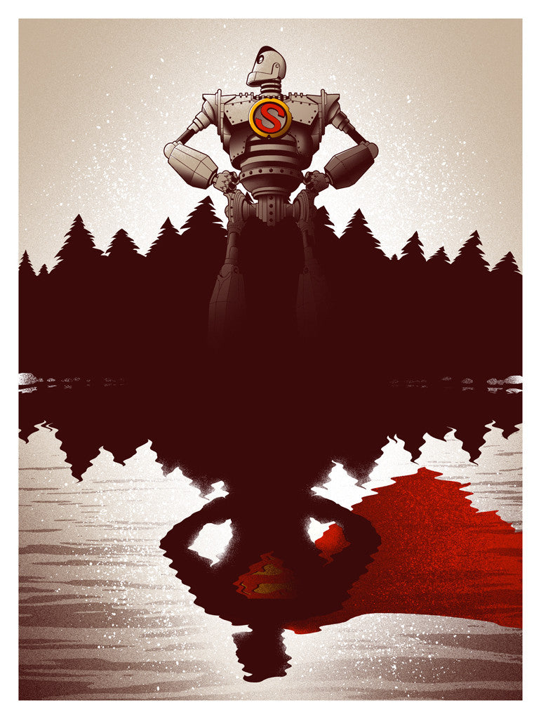 """You Are Who You Choose To Be"" Red AP by Adam Rabalais - Hero Complex Gallery"