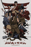 """Ninja Scroll"" by Yvan Quinet"