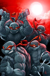 """TMNT RED"" Framed - by Zac Atkinson $100.00 - SOLD OUT - Hero Complex Gallery"