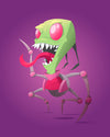 "Busted: ""Zim"" by Florey - Hero Complex Gallery  - 1"