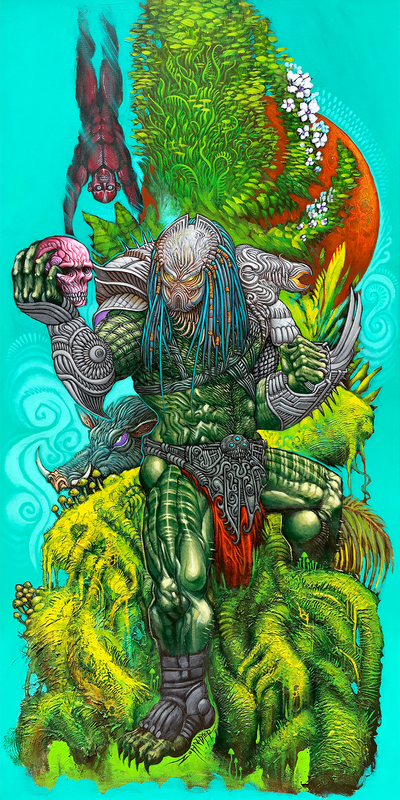 """Predator - The Trophy Tree"" by Zohn Dyer"