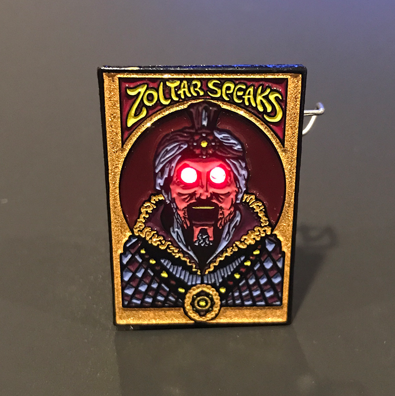 """Zoltar"" Pin by Kevin M Wilson - Hero Complex Gallery  - 1"