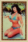 "Bettie: ""Bettie Page at the Beach"" Desert Storm by Tim Jordan - Hero Complex Gallery"