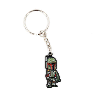 """Boba Fett"" Enamel Keychain by Little Shop of Pins"