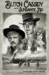 """Butch and Sundance"" Large Text by Paul Shipper - Hero Complex Gallery"