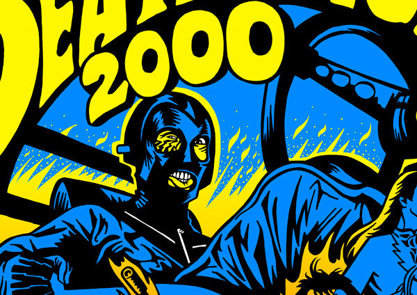 """Death Race 2000"" by Jeremy Wheeler - Hero Complex Gallery  - 3"