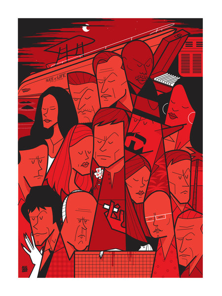 """The Dark Passenger"" by Ale Giorgini - Hero Complex Gallery"
