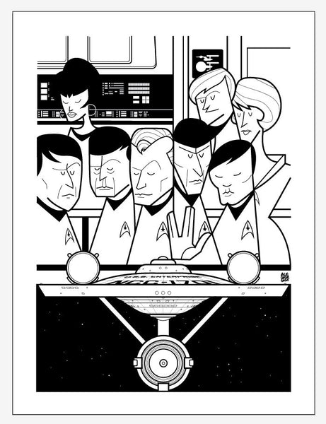 """Enterprise"" Variant by Ale Giorgini - Hero Complex Gallery"