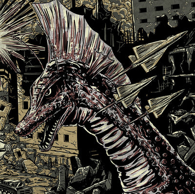"""Terror of Mechagodzilla"" by Aaron Haynes - Hero Complex Gallery  - 3"