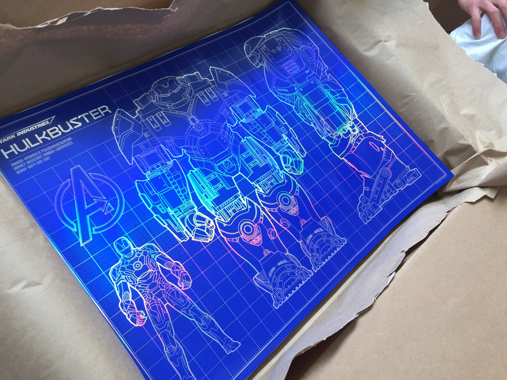 """Hulkbuster Blueprint"" by Timcab - Hero Complex Gallery  - 2"