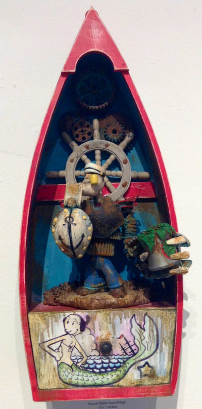 """Clockwork Sailor"" by Mr. The Sanders - Hero Complex Gallery  - 1"