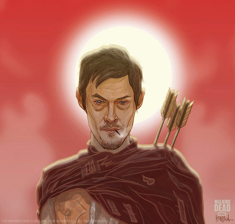 """The Good, The Bad & The Walking Dead"" by PJ McQuade - Hero Complex Gallery  - 2"
