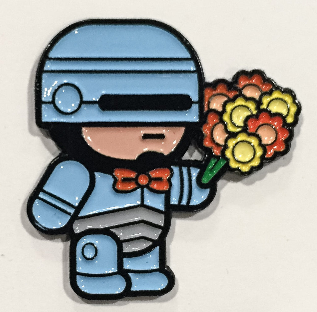 """Robocop"" Pin by 100% Soft"
