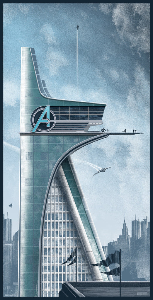 """Meanwhile, Back at Avengers Headquarters..."" by JC Richard - Hero Complex Gallery"