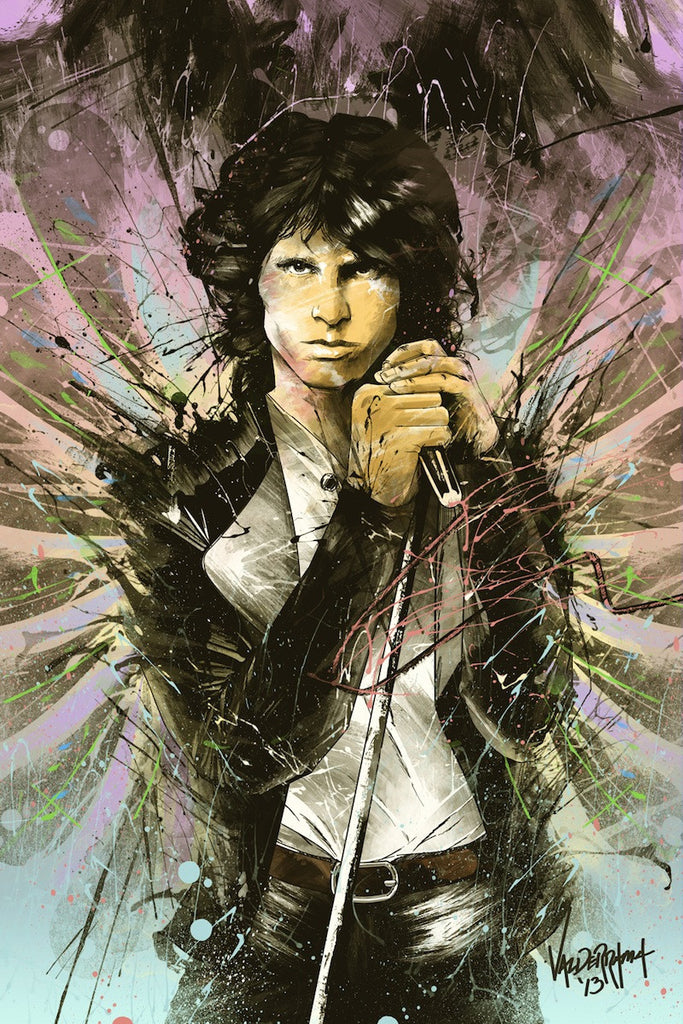 "27 Club: ""Jim Morrison, 1943 - 1971"" by JP Valderrama - Hero Complex Gallery"