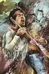 "27 Club: ""Jimi Hendrix, 1942 - 1970"" by JP Valderrama - Hero Complex Gallery"