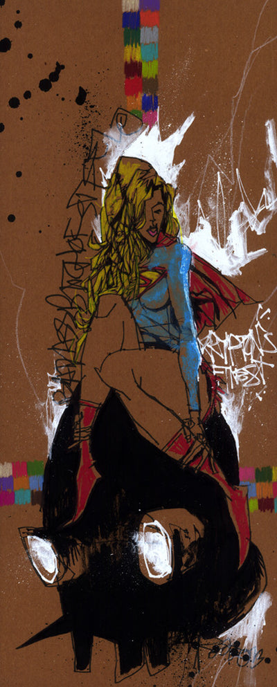 """KRYPTON'S FINEST"" by Jim Mahfood - Hero Complex Gallery  - 1"