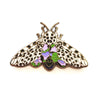 "166. ""Giant Leopard Moth"" Pin by Natelle"