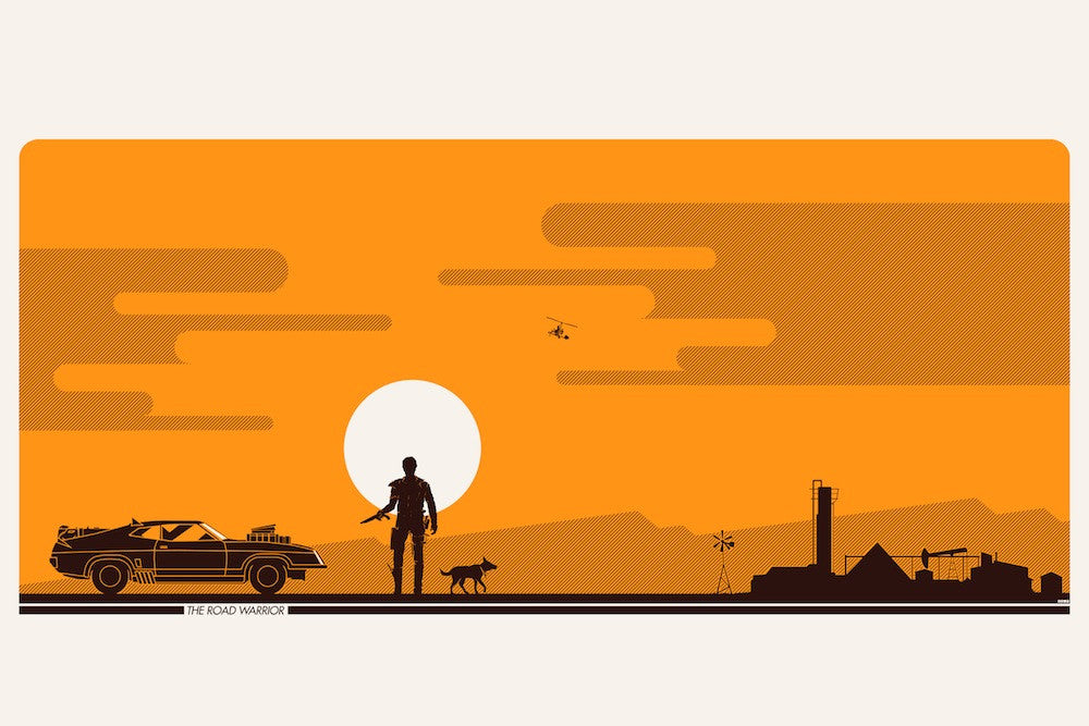 "It's The End Of The World As I Know It…And I Feel Fine: ""The Road Warrior"" by Matt Ferguson - Hero Complex Gallery"