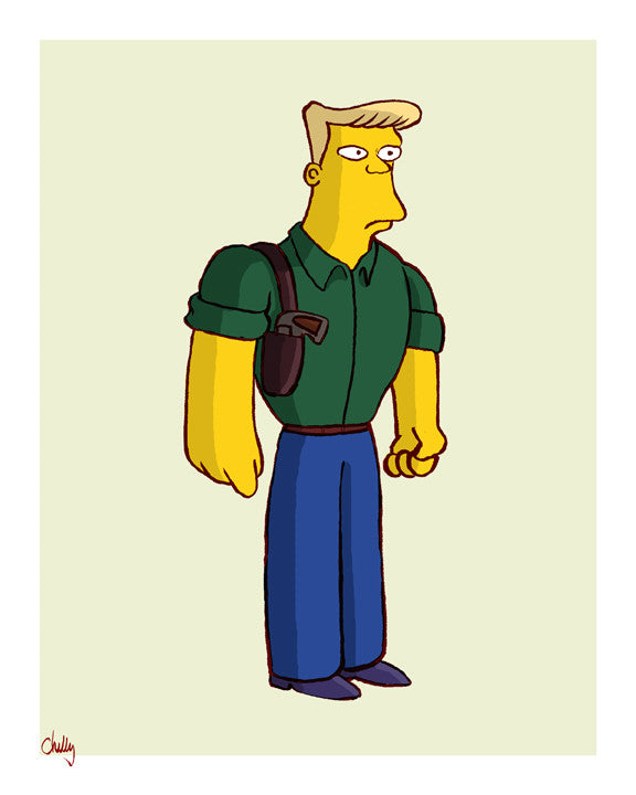 """The Good Guys: McBain"" by Mark Chilcott - Hero Complex Gallery"