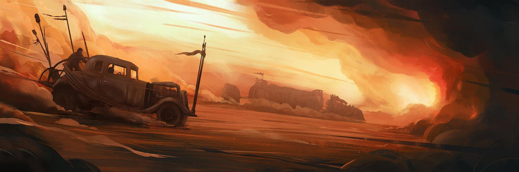 """Where must we go, we who wander this wasteland."" by Jordan Buckner - Hero Complex Gallery  - 1"