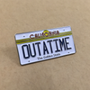 """BTTF OUTATIME Plate"" Pin by Kevin M Wilson - Hero Complex Gallery"