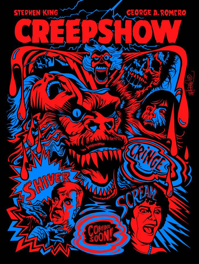 """Creepshow"" by Jeremy Wheeler - Hero Complex Gallery  - 1"