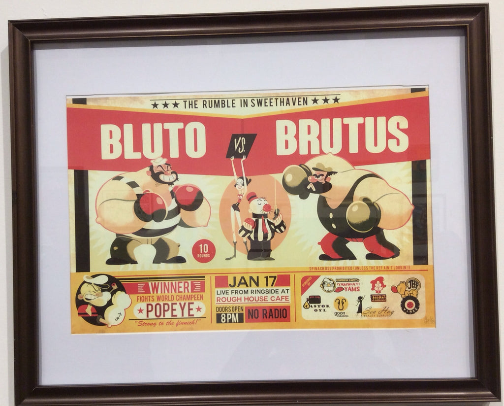 """Bluto vs Brutus"" by Glen Brogan - Hero Complex Gallery  - 4"
