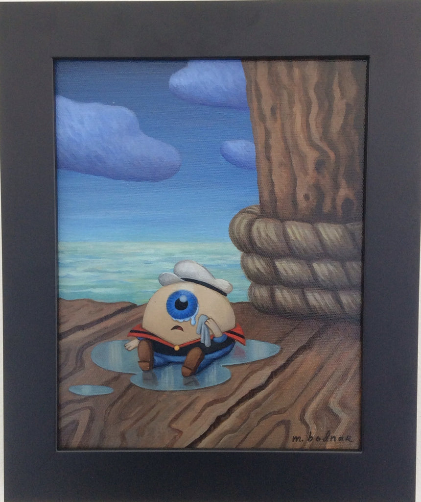 """Popeye's Missing Eye"" by Mark Bodnar - Hero Complex Gallery  - 2"