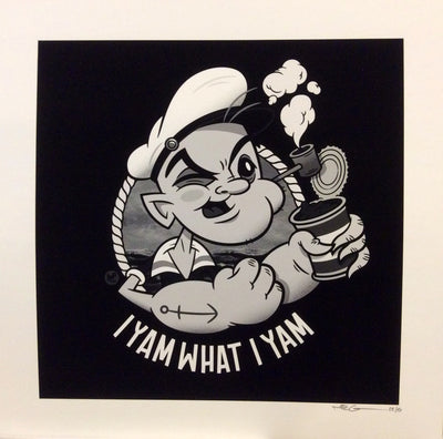"""I Yam What I Yam"" by Nic Cowan - Hero Complex Gallery  - 1"