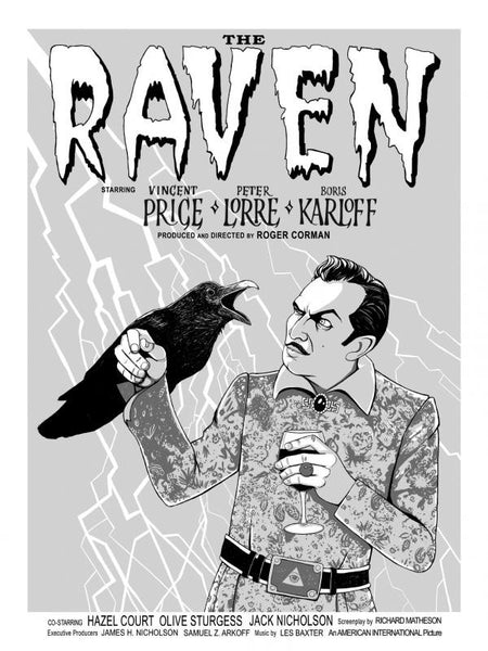 """The Raven"" by Isaac Bidwell - Hero Complex Gallery"