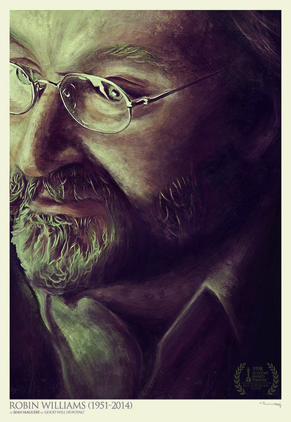 """ROBIN WILLIAMS"" by Raj Khatri - Hero Complex Gallery"