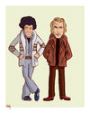 """The Good Guys: Starsky and Hutch"" by Mark Chilcott - Hero Complex Gallery"