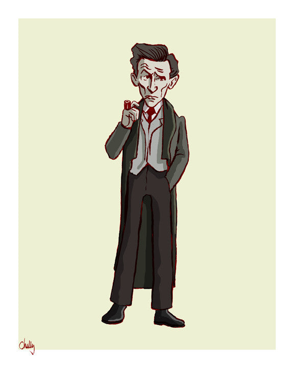 """The Good Guys: Sherlock"" by Mark Chilcott - Hero Complex Gallery"