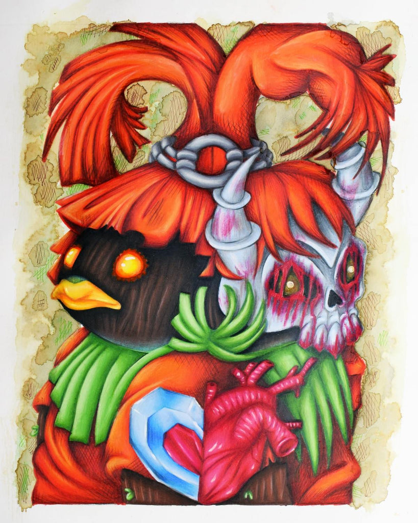 """Skull Kid"" by Michelle Spadaro - Hero Complex Gallery"
