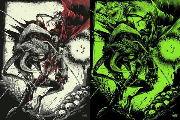 """Spawn vs Violator"" AP by JP Valderrama - Fresh Doodle - Hero Complex Gallery  - 1"