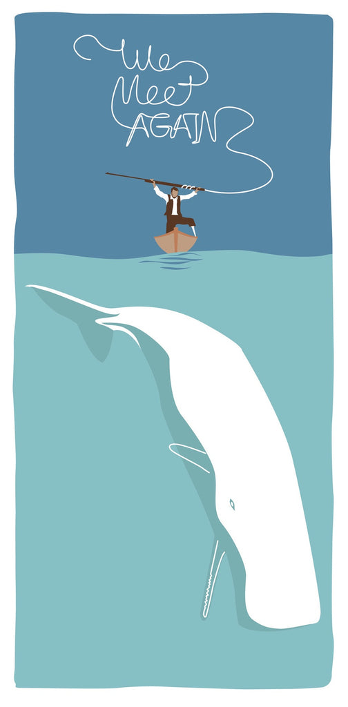 """Nemesis Triptych"" Moby Dick by Steve Thomas $35.00"