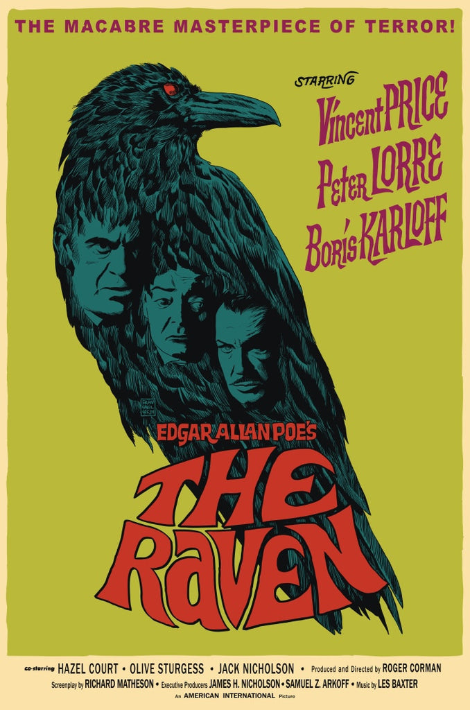 """The Raven"" by Francesco Francavilla $55.00 - SOLD OUT"